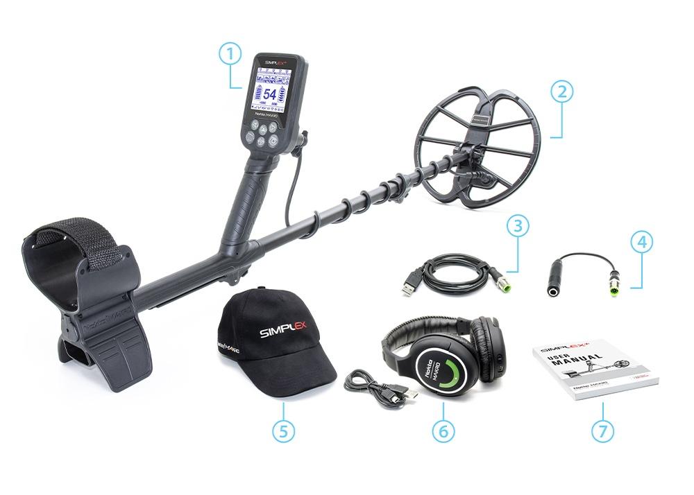 Nokta Makro detectors simplex package contents